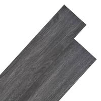 vidaXL PVC podne obloge 5,26 m² 2 mm crne i bijele