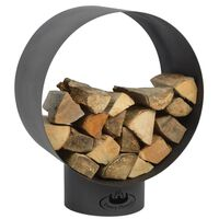 Esschert Design spremište za drva za ogrjev okruglo FF282
