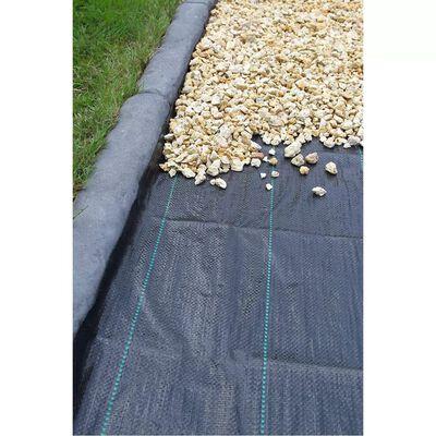 Nature Pokrov za tlo 1x10 m crna