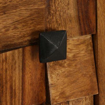 vidaXL TV ormarić od masivnog drva šišama s premazom boje meda 140 x 30 x 40 cm