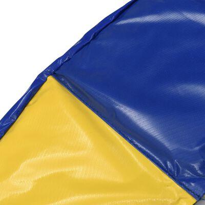 vidaXL Sigurnosna podloga PVC šarena za okrugli trampolin od 4,57 m