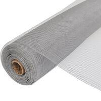 vidaXL Mreža od aluminija 150 x 1000 cm srebrna