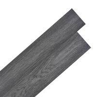 vidaXL Samoljepljive podne obloge PVC 5,02 m² 2 mm crne i bijele