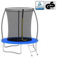 vidaXL Set trampolina okrugli 183 x 52 cm 80 kg