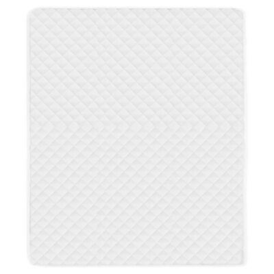 vidaXL Zaštitni prekrivač za madrac bijeli 180 x 200 cm lagani