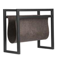 LABEL51 stalak za časopise 45 x 20 x 38 cm antracit