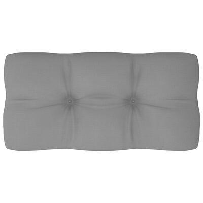 vidaXL Jastuk za sofu od paleta sivi 80 x 40 x 12 cm