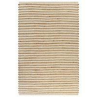 vidaXL Ručno tkani tepih od jute i tkanine 120 x 180 cm prirodni i bijeli
