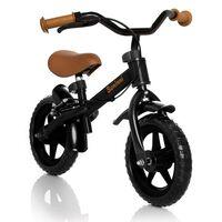 "Baninni Balance Bike ""Wheely"" Black and Brown BNFK012-BKBR"