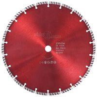vidaXL Dijamantni disk za rezanje s turbo segmentima čelični 300 mm