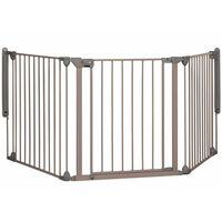 "Safety 1st sigurnosna ograda ""Modular 3"" s 3 ploče 82-214 cm siva 24226580"