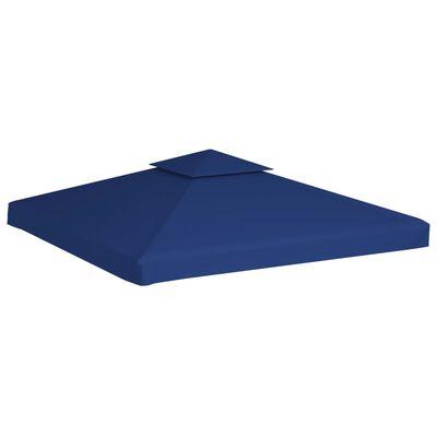 vidaXL Zamjenski pokrov za sjenicu 310 g/m² tamnoplavi 3 x 3 m