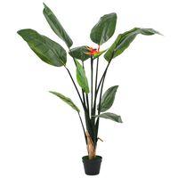 vidaXL Umjetna biljka rajska ptica Strelitzia reginae 155 cm