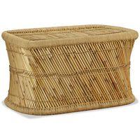 vidaXL Stolić za kavu pravokutni 78 x 50 x 45 cm od bambusa