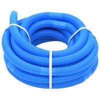 vidaXL Crijevo za bazen plavo 32 mm 15,4 m