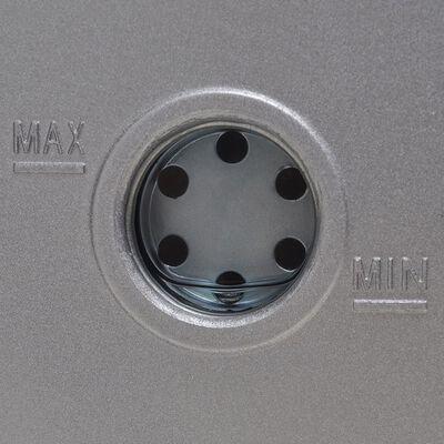 vidaXL Jednostupanjska vakuumska crpka s 4-smjernim mjeračem tlaka