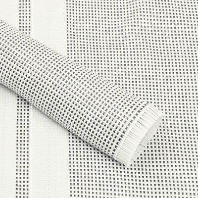 vidaXL Tepih za šator 650 x 300 cm sivi