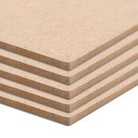 vidaXL Ploče od MDF-a 20 kom kvadratne 60 x 60 cm 2,5 mm