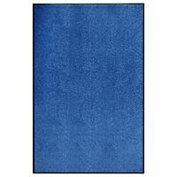 vidaXL Otirač perivi plavi 120 x 180 cm