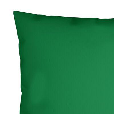 vidaXL Ukrasni jastuci 4 kom zeleni 50 x 50 cm od tkanine
