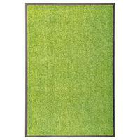 vidaXL Otirač perivi zeleni 60 x 90 cm