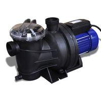 Električna pumpa za bazen 1200 W plava