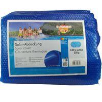 Summer Fun solarni pokrivač za ljetni bazen ovalni 800 x 420 cm PE plavi