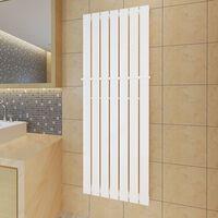 Bijeli radijator za kupaonicu s držačem za ručnike 542mm x 1500mm