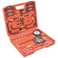 vidaXL Set za ispitivanje tlaka ubrizgavanja goriva
