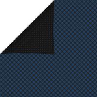 vidaXL Plutajući PE solarni pokrov za bazen 1000 x 600 cm crno-plavi