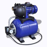 Vrtna plava električna pumpa 1200W