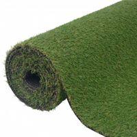 vidaXL Umjetna trava 1 x 10 m / 20 mm zelena