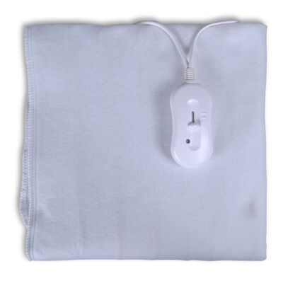 Električna periva deka za grijanje od poliestera, 150 x 70 cm