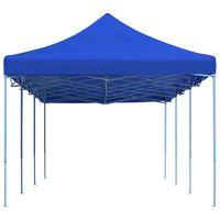 vidaXL Sklopivi šator za zabave 3 x 9 m plavi