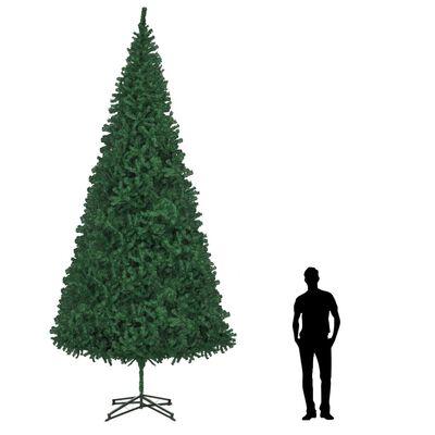 vidaXL Umjetno božićno drvce 500 cm zeleno