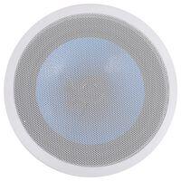 vidaXL Ugradbeni zidni i stropni zvučnik s visokotoncem 180 W