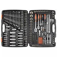 Sthor set nasadnih ključeva i nastavaka od 216 dijelova metalni 58691
