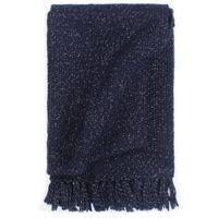 vidaXL Pokrivač od lureksa 125 x 150 cm modri