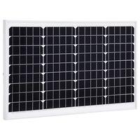 vidaXL Solarna ploča monokristalna 40 W aluminij i sigurnosno staklo