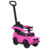 vidaXL Dječji automobil na guranje Mercedes-Benz G63 ružičasti