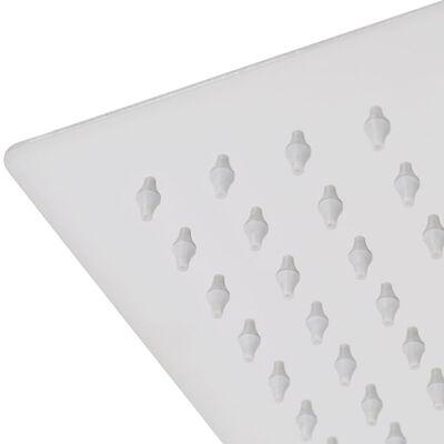 vidaXL Glava za tuš od nehrđajućeg čelika 2 kom 20 x 30 cm