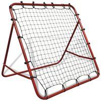 trening tabla za nogomet, 100 x 100 cm, podesiva