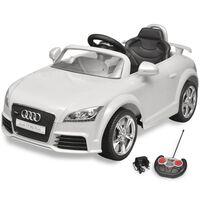 Dječji Autić Audi TT RS s Daljinskim Upravljanjem Bijeli