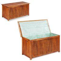 vidaXL Vrtna kutija za pohranu 117 x 50 x 58 cm masivno bagremovo drvo