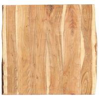 vidaXL Stolna ploča od masivnog bagremovog drva 60 x (50-60) x 3,8 cm