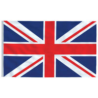 vidaXL Zastava Ujedinjenog Kraljevstva 90 x 150 cm