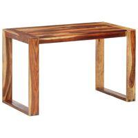 vidaXL Blagovaonski stol 120 x 60 x 76 cm od masivnog drva šišama
