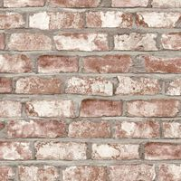 DUTCH WALLCOVERINGS zidna tapeta s uzorkom cigli crvena EW3102