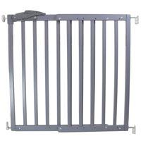 A3 Baby & Kids sigurnosna ograda Oslo 71 - 102 cm drvena siva 64635
