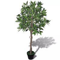 Umjetno stablo lovora s teglom 120 cm